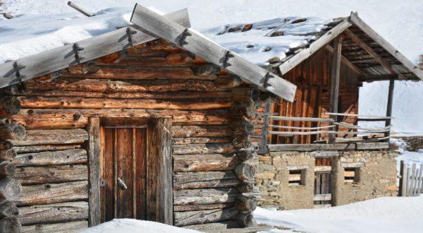 Der Fane Alm Winter