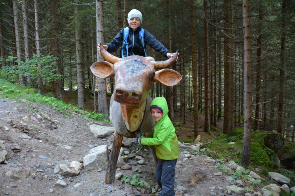 Fane Alm wandern mit Kindern - der Milchweg